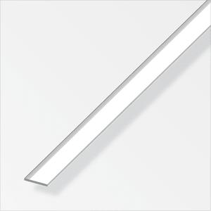 Flachstange 2 x 15 mm chrom-optik 1 m