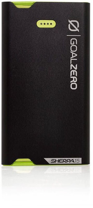 GoalZero Powerbank Sherpa 15 Micro / Lighting Black