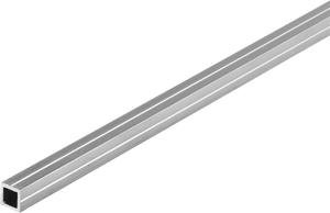 Quadratrohr 1 x 7.5 mm blank 1 m