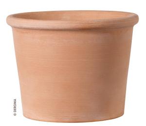 Pot cylindrique en argile