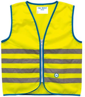 Warnweste Fun Jacket Gelb S