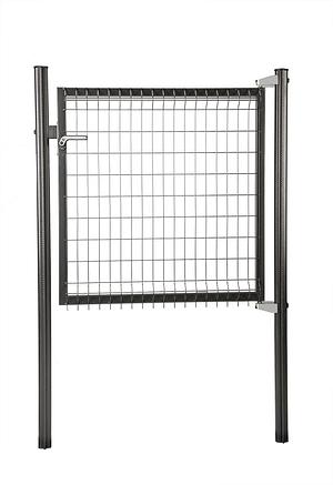 Porte Panneaux anthracite 100/103cm