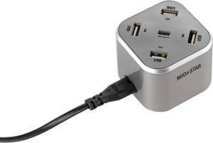 USB Charging Station Cube 5-Port