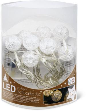 Lumières LED avec des balles acryliques