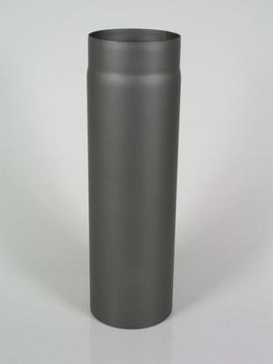 Rauchrohr 100 cm, ohne Putzdeckel