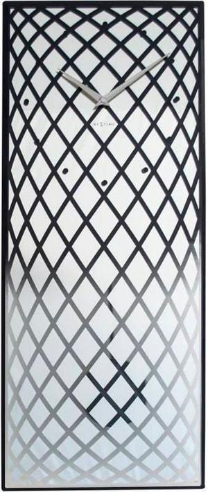 Wanduhr Pendula Silber 30 x 70 c