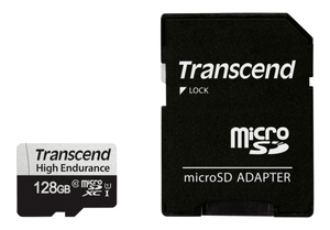 microSDXC Card 350V, 128GB SDXC inkl. Adattatore