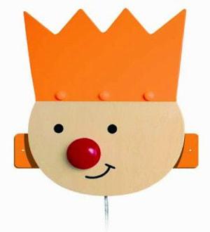 Wandleuchte Königskind orange