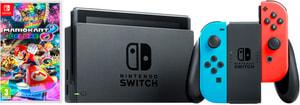 Switch Neon V2 2019 inkl. Mario Kart 8 Deluxe DLC