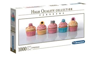 Clemantoni Puzzle Panor. Cupcakes 1000Tl