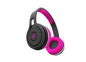 SYNC Bluetooth Bügelkopfhörer pink