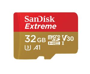 Extreme 100MB/s microSDHC 32GB