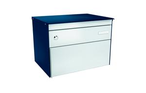 Boîtes-aux-lettres s:box 13 bleu saphir/alu