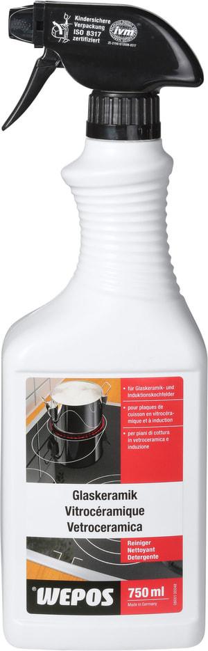 Détergent pour vitrocéramique