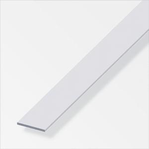 Flachstange 2 x 30 mm silberfarben 1 m