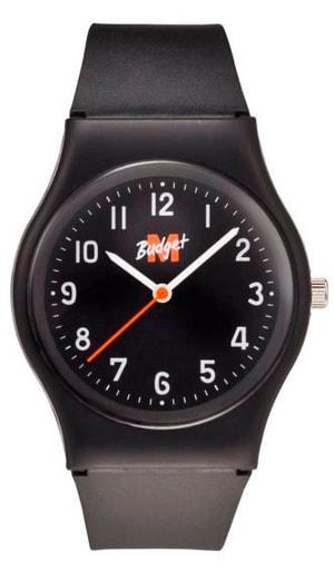 Armbanduhr schwarz / schwarz