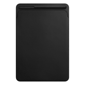 Étui en cuir pour iPad Pro 10,5 pouces - Noir
