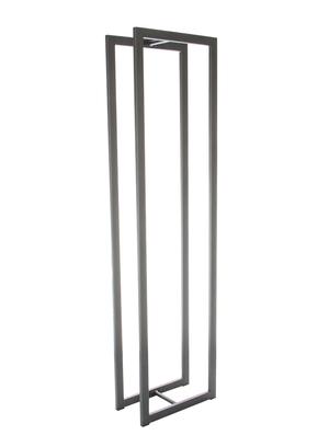Casier de stockage pour le bois 3 gris