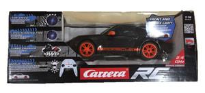 GO! RC 1:16 Porsche schwarz
