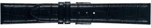 Uhrenarmband TOSCANA schwarz 20mm