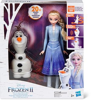 Poupées Elsa et Olaf interactives Frozen II