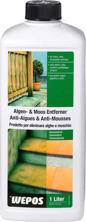 Algen- & Moos Entferner Konzentrat