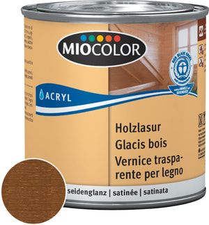 Acryl Glacis bois Blanc chaux 375 ml