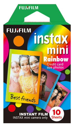 Instax Mini Rainbow 1x10