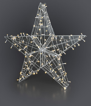 LED étoile grande, 90 cm