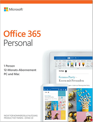 Office 365 Personal 2019 PC/Mac (D)