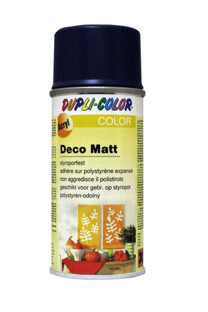 Vernice spray deco opaco