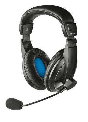 Quasar Headset Klinke noir