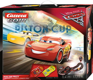 Disney Cars 3 Carrera Go Ride the Track