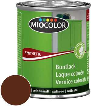 Synthetic Vernice colorata opaca Rosso vino 375 ml