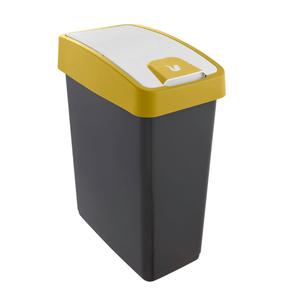 Magne Abfallbehälter 25l, capri-yellow