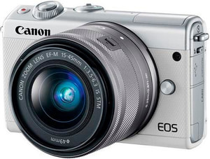 EOS M100 15-45mm KIT weiss, 24.2 M