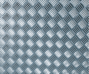 Dekofolien selbstklebend Metallic Riffelblech Silber