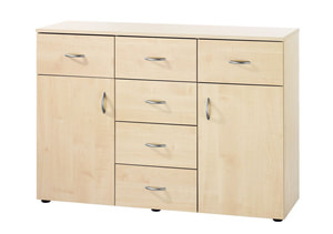 STYLE SIDEBOARD 6C.2P.ACERO