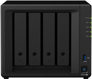 DiskStation DS918+ NAS Leergehäuse