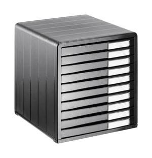 Boîte de bureau, 10 tiroirs fermés, TIMELESS