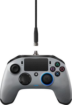 Revolution Pro Gaming PS4 manette argenté mat