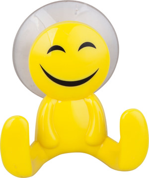 Gancio a ventosa Smiley
