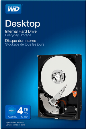 Desktop Everyday 4TB 3.5""