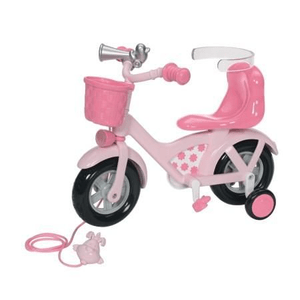 04/10 BABY BORN BICYCLETTE ROSE
