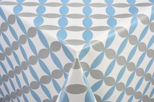 Couverture de table Luna bleu 140 x 140 cm