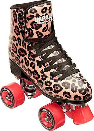 Quad Skate Leopard