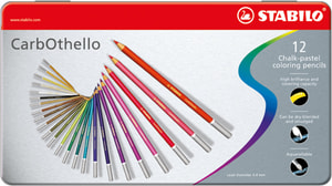 STABILO® CarbOthello Crayons pastels