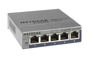 GS105E-200PES 5-Port Smart Managed Plus Gigabit Switch