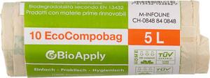 Sacco per il compostaggio, 5 l