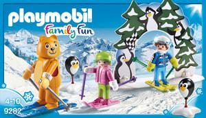 Playmobil Family Fun Moniteur de ski avec enfants 9282